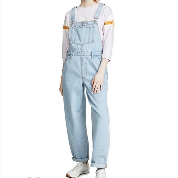 Levi's Denim - Levi's Baggy Overall Jeans Light Denim